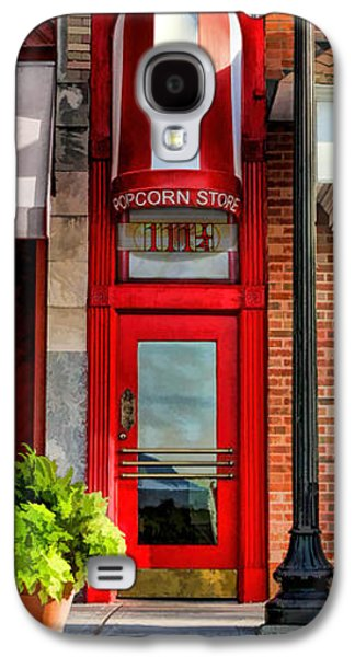 Wheaton Little Popcorn Shop Panorama Galaxy S4 Case by Christopher Arndt