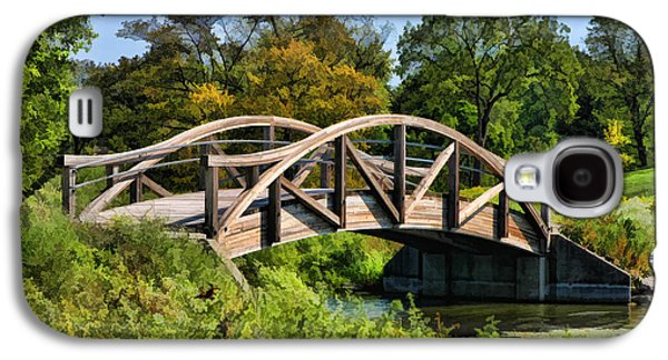 Wheaton Northside Park Bridge Galaxy S4 Case by Christopher Arndt