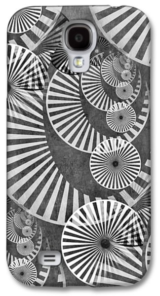 Wheel In The Sky Bw Galaxy S4 Case by Angelina Vick