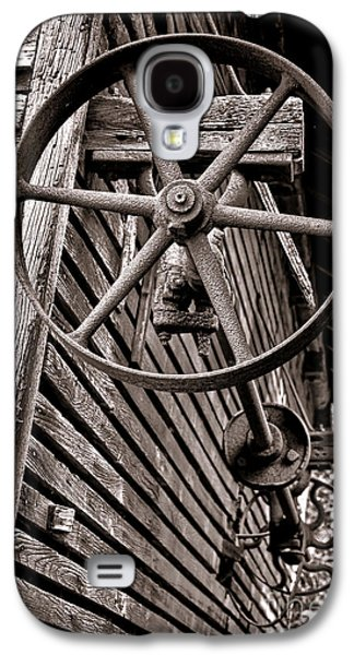 Wheel Of Labor  Galaxy S4 Case by Olivier Le Queinec