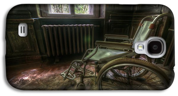 Wheelchair View Galaxy S4 Case by Nathan Wright