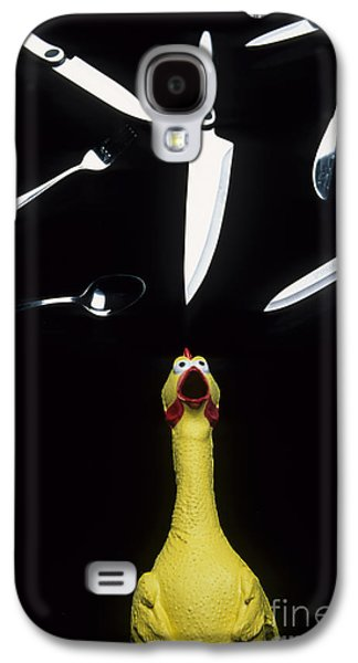 When Rubber Chickens Juggle Galaxy S4 Case by Bob Christopher