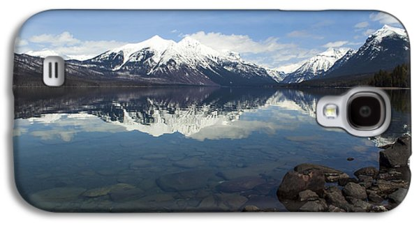 When The Sun Shines On Glacier National Park Galaxy S4 Case