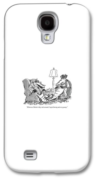 Reptiles Galaxy S4 Case - Whenever Mother's Day Rolls by Edward Frascino