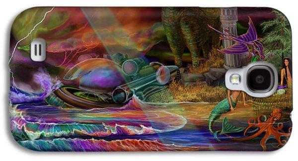 Where The Mermaids Meet Galaxy S4 Case by Frances McCloskey