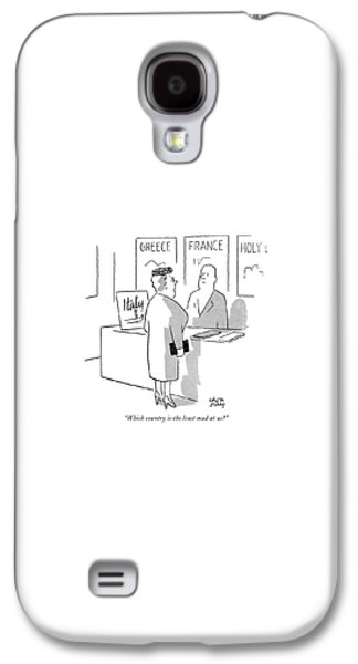 International Travel Galaxy S4 Case - Which Country Is The Least Mad At Us? by Chon Day