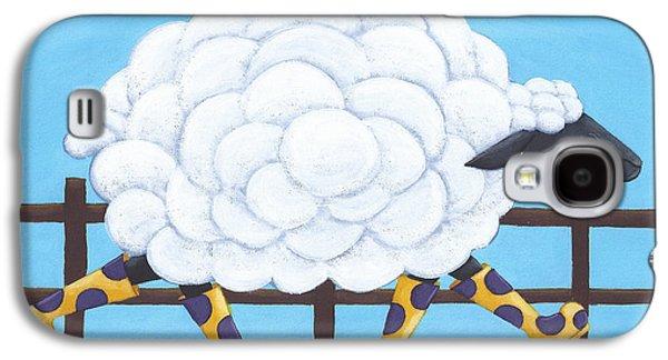 Whimsical Sheep Art Galaxy S4 Case
