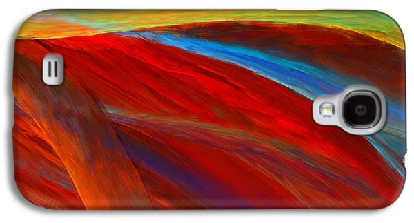 Whirled Colors Galaxy S4 Case by Lourry Legarde