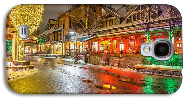 Whistler Village Colors Galaxy S4 Case by Pierre Leclerc Photography