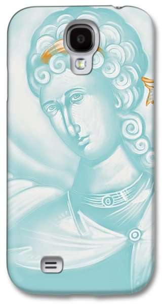 White Angel Galaxy S4 Case by Julia Bridget Hayes