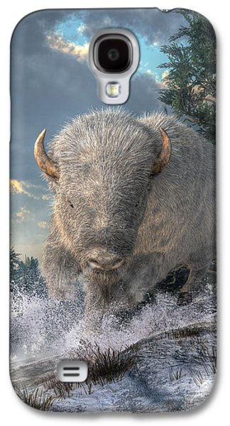 White Bison Galaxy S4 Case