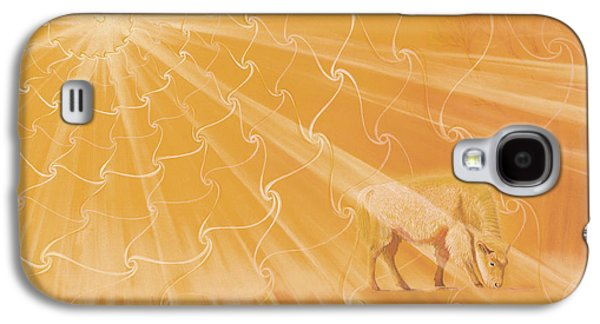 White Buffalo Calf Galaxy S4 Case by Robin Aisha Landsong