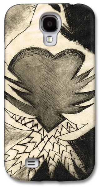 White Dove Art - Comfort - By Sharon Cummings Galaxy S4 Case by Sharon Cummings