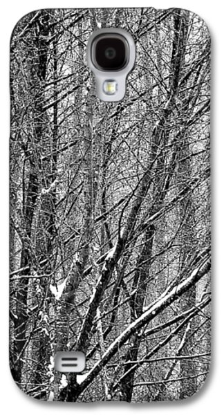 Galaxy S4 Case featuring the photograph White Forest by Marc Philippe Joly