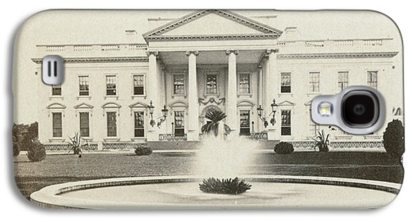 White House, C1882 Galaxy S4 Case by Granger