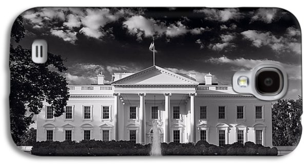 White House Sunrise B W Galaxy S4 Case