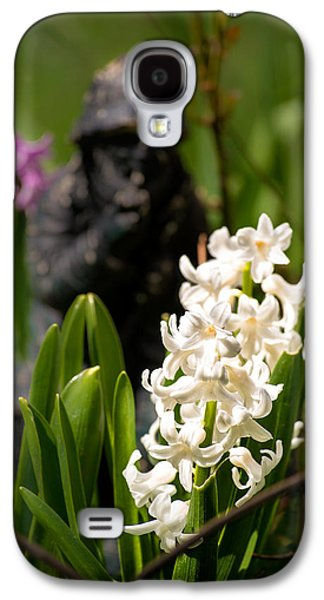 White Hyacinth In The Garden Galaxy S4 Case
