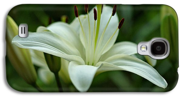 White Lily Galaxy S4 Case
