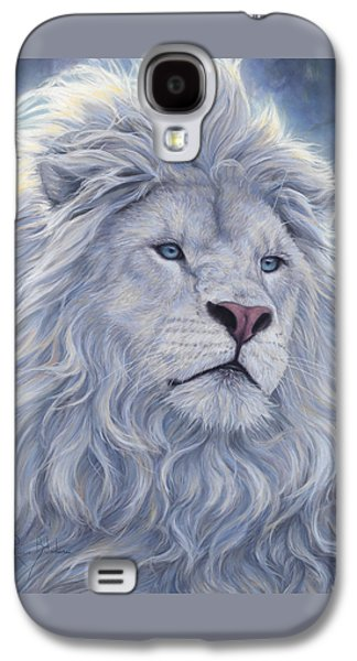 Wildlife Galaxy S4 Case - White Lion by Lucie Bilodeau