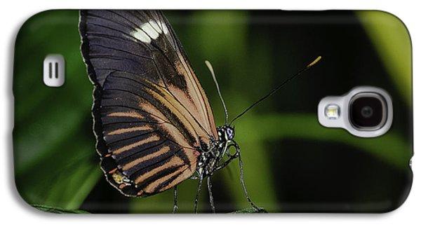 White On Black Galaxy S4 Case