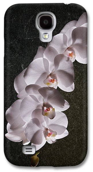 White Orchid Still Life Galaxy S4 Case by Tom Mc Nemar