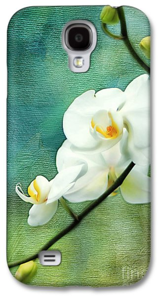 White Orchids Galaxy S4 Case by Darren Fisher