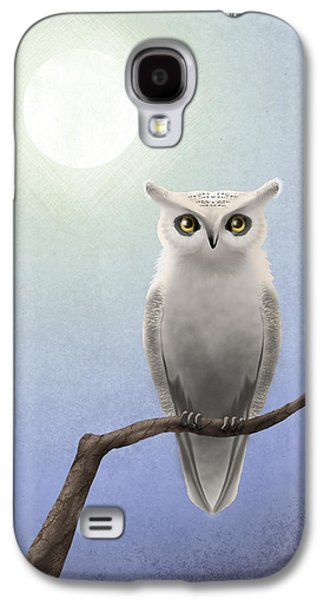 White Owl Galaxy S4 Case