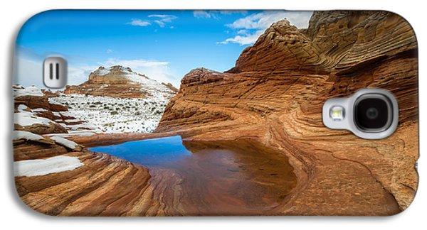 White Pocket Utah 2 Galaxy S4 Case