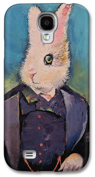 White Rabbit Galaxy S4 Case by Michael Creese