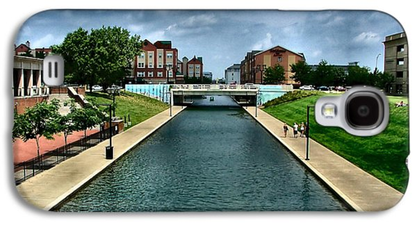 White River Park Canal In Indy Galaxy S4 Case
