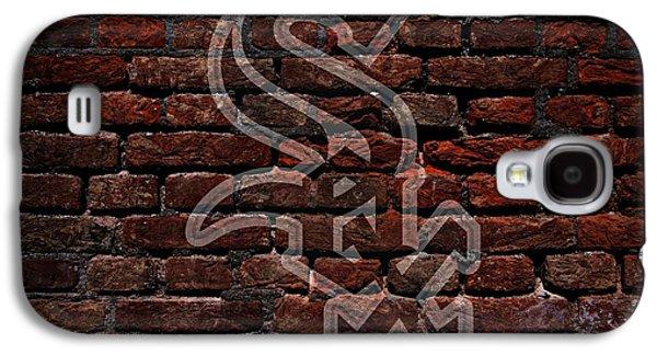 White Sox Baseball Graffiti On Brick  Galaxy S4 Case