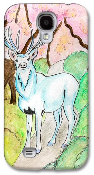 White Stag Galaxy S4 Case by Pati Photography