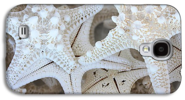 White Starfish Galaxy S4 Case by Carol Groenen