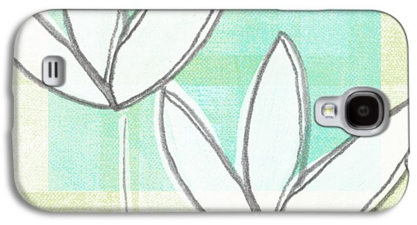 Tulip Galaxy S4 Case - White Tulips by Linda Woods