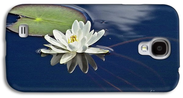 White Water Lily Galaxy S4 Case