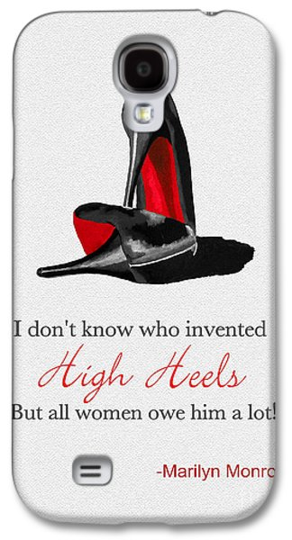 Who Invented High Heels? Galaxy S4 Case