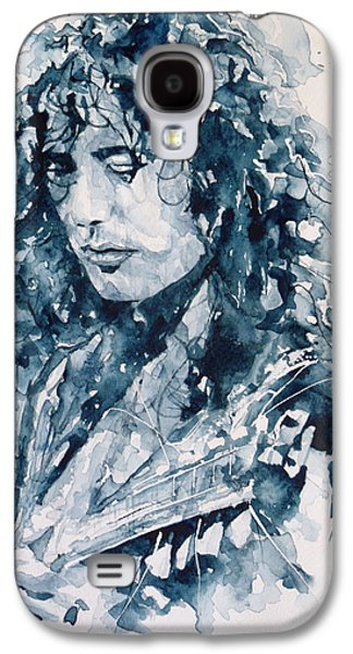 Musicians Galaxy S4 Case - Whole Lotta Love Jimmy Page by Paul Lovering
