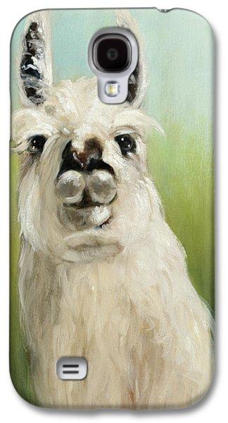 Llama Galaxy S4 Case - Whos Your Llama I by Julia Purinton