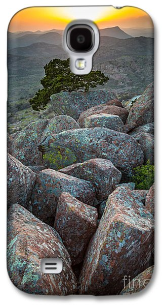 Wichita Mountains Galaxy S4 Case by Inge Johnsson