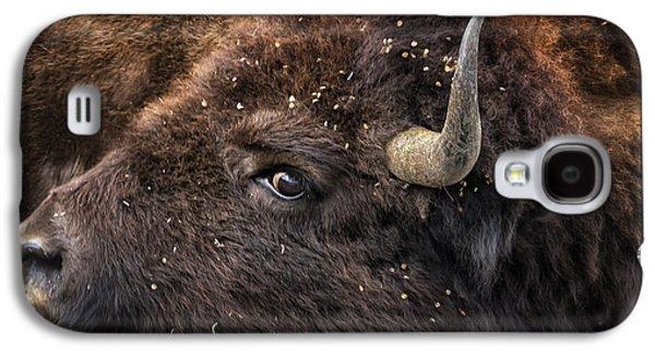 Wild Eye - Bison - Yellowstone Galaxy S4 Case