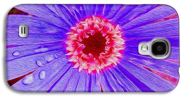 Wild Flower Close Up Galaxy S4 Case