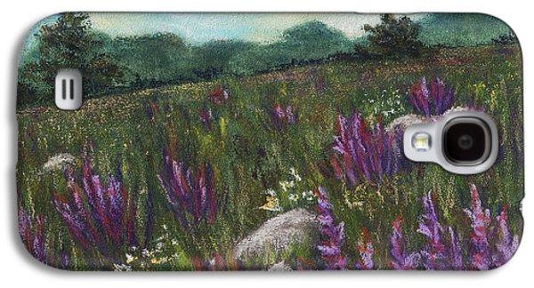 Decor Galaxy S4 Cases - Wild Flower Field Galaxy S4 Case by Anastasiya Malakhova