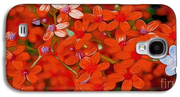 Wild Flowers Galaxy S4 Case