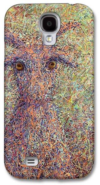 Wild Goat Galaxy S4 Case by James W Johnson
