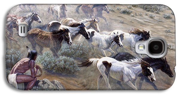 Wild Mustangs Galaxy S4 Case by Gregory Perillo