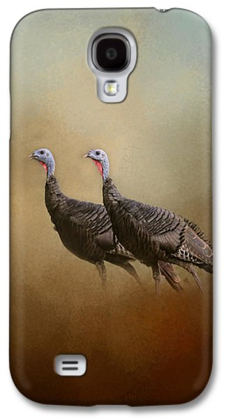 Wild Turkey At Shiloh Galaxy S4 Case