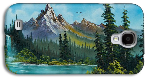 Wilderness Waterfall Galaxy S4 Case by C Steele