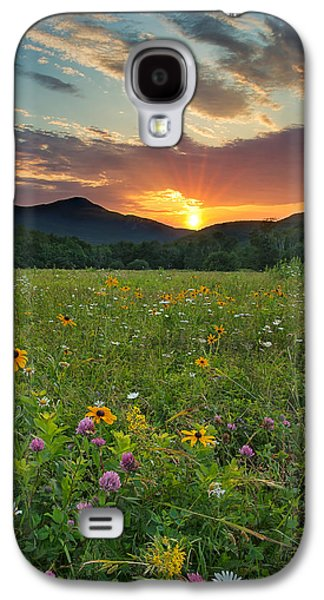 Wildflower Sunset Galaxy S4 Case