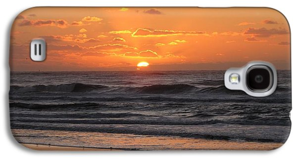 Wildwood Beach Here Comes The Sun Galaxy S4 Case by David Dehner
