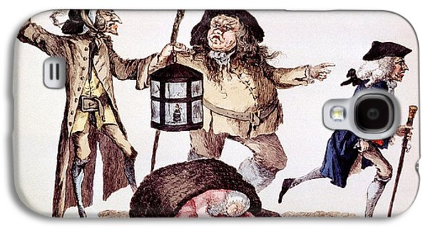 William Hunter And Body Snatching, 1773 Galaxy S4 Case